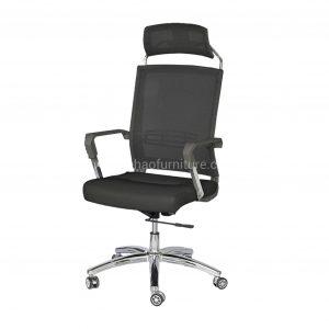 ELMN 1587 Mesh Office Chair in Black Frame