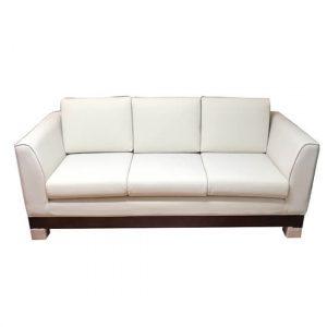 3 Seater Sofa (White)