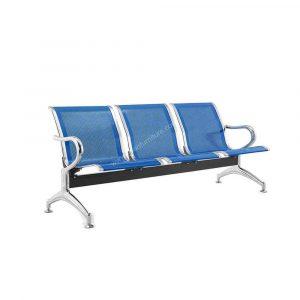 DMGC Chrome 3-Seater Gang Chair