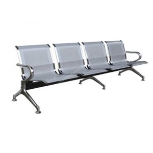 DMGC Chrome 4-Seater Gang Chair