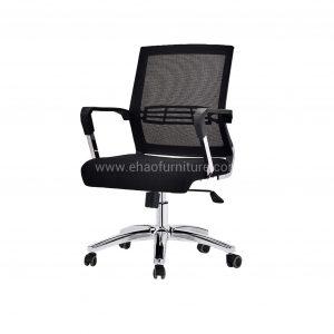 ELMN 1583 Mesh Office Chair in Black Frame