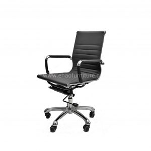 DM 882 Leather Low Back Office Chair
