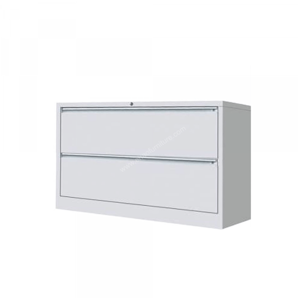 DMURV 062 2 Layered Off-White Lateral Filing Cabinet