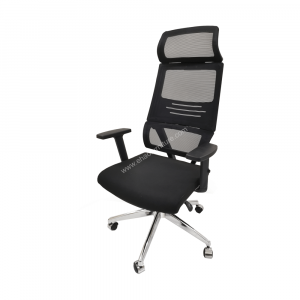 ELMN Alta with Arms Mesh Executive Office Chair